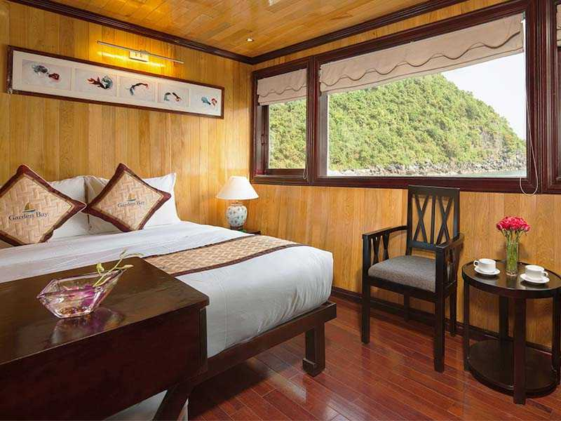Deluxe Sea View - 2 Pax/ Cabin (Location: 1st Deck - Sea View)